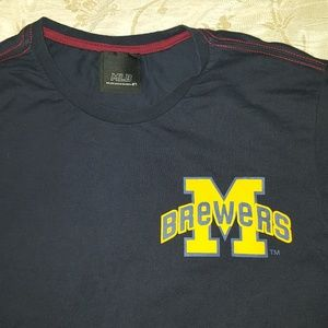 Unique MLB Korean Milwaukee Brewers shirt, Large